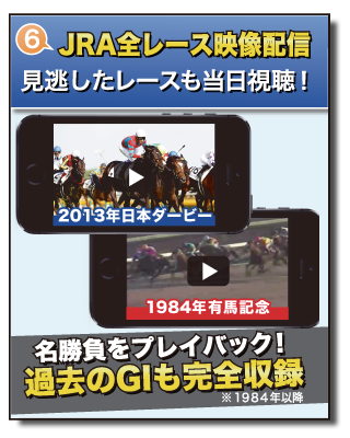 魅力6 JRA全レース映像