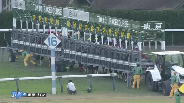 武蔵野S レース映像