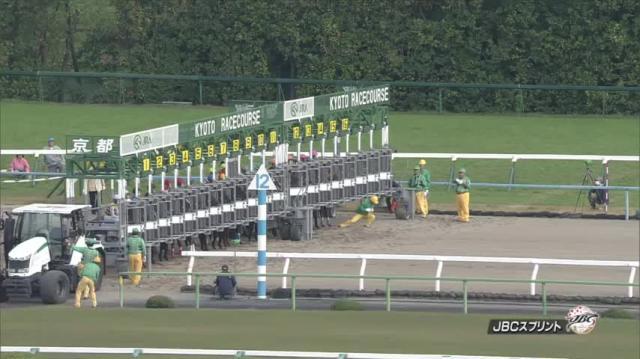 JBCスプリント レース映像