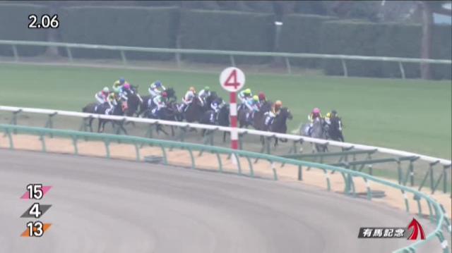 有馬記念2019 レース映像