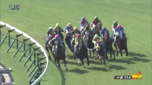 小倉記念2019 レース映像