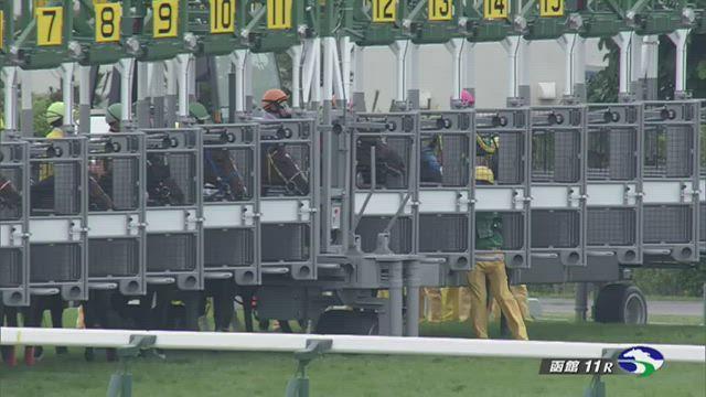 函館2歳S レース映像