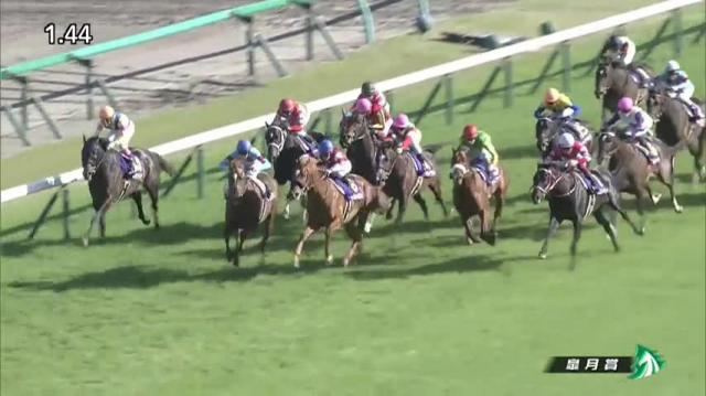 皐月賞 レース映像