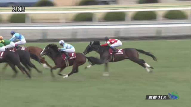 日経新春杯 レース映像