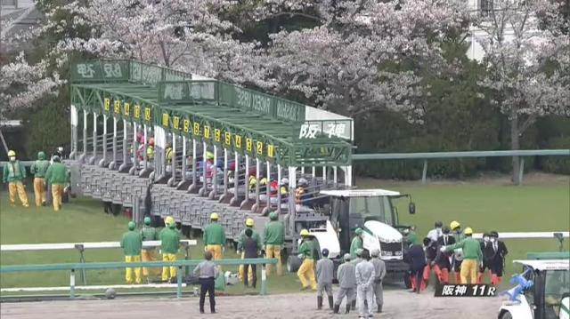 阪神牝馬S2020 レース映像