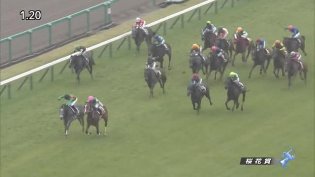 桜花賞2020 レース映像