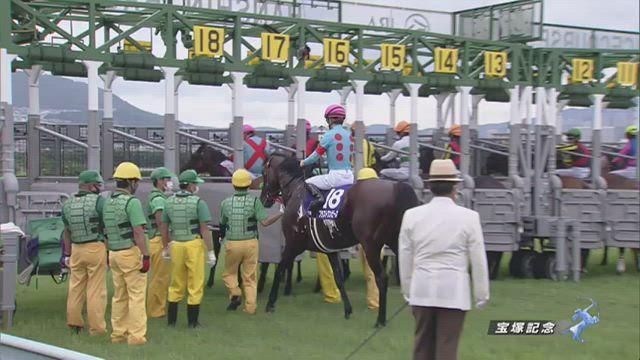宝塚記念 レース映像