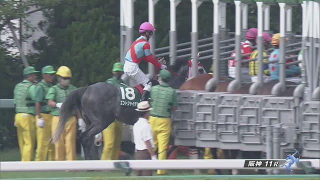 中京記念2020 レース映像