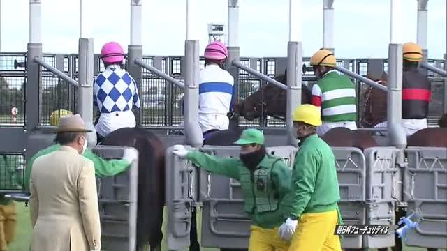 朝日杯FS レース映像