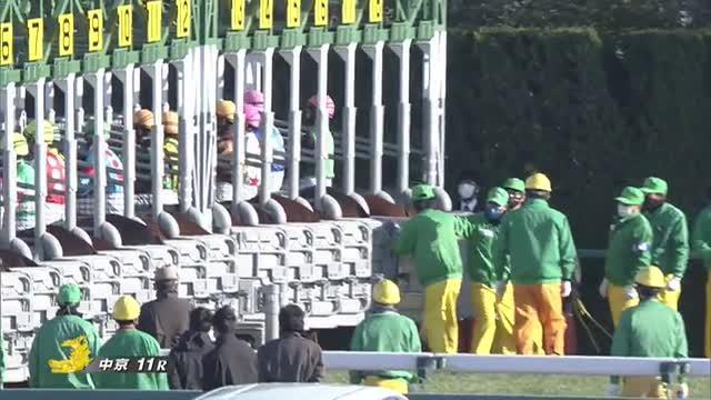 シルクロードS レース映像