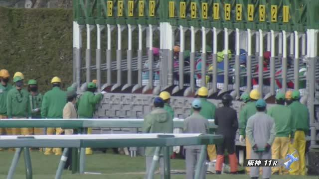 京都牝馬S レース映像
