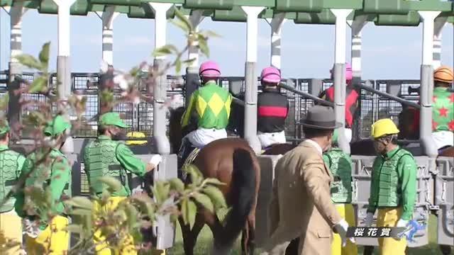 桜花賞 レース映像
